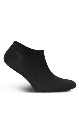 LIKYA - Likya Erkek Patik Çorap Sneaker Düz Bambu