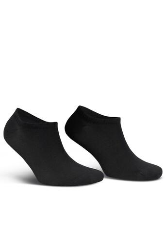 LIKYA - Likya Erkek Patik Çorap Sneaker Düz Bambu (1)
