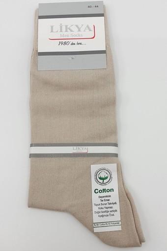 LİKYA - Likya Erkek Soket Çorap Pamuklu Düz (12 adet)