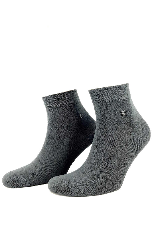 Likya Erkek Yarım Konç Çorap Desen 18 Bambu (12 adet) - Thumbnail
