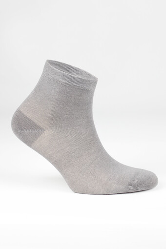 LIKYA - Likya Kadın Yarım Konç Çorap Bambu Düz (12 adet) (1)
