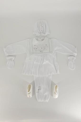 MİNİ DAMLA - Minidamla Kız Bebek Mevlüt Takımı (MDAMLA019M)