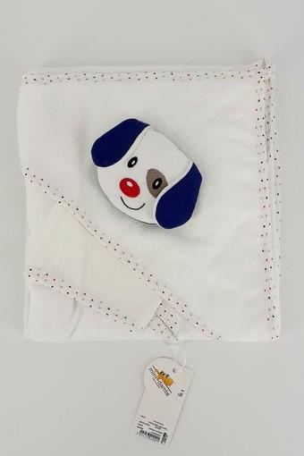 MİNİ DAMLA - Minidamla Unisex Bebek Kurulama Havlusu Oyuncaklı (1)