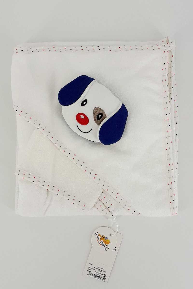 Minidamla Unisex Bebek Kurulama Havlusu Oyuncaklı - Thumbnail