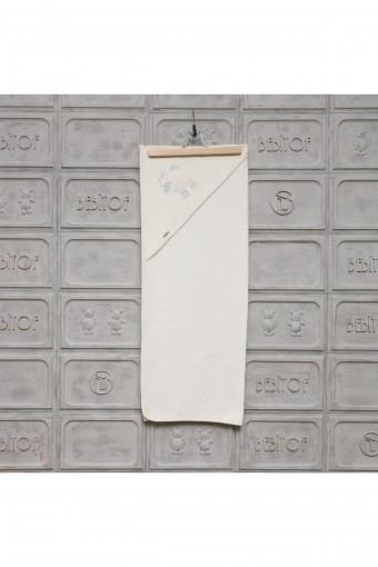 BEBİTOF - Minilamb Unisex Bebek Havlusu Yağmur Günü (1)