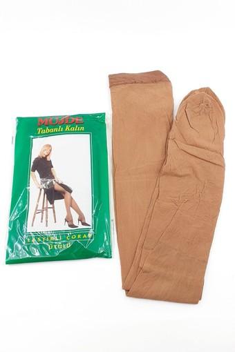 MÜJDE - Müjde Kadın Külotlu Çorap Tabanlı Kalın Lastikli (6 adet)