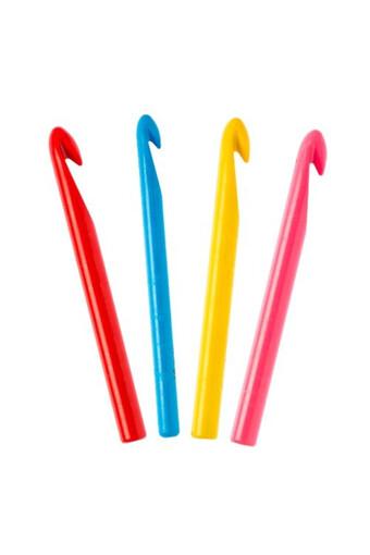 NAZARONE - Nazarone Örgü Tığı Plastik Renkli (12 adet)