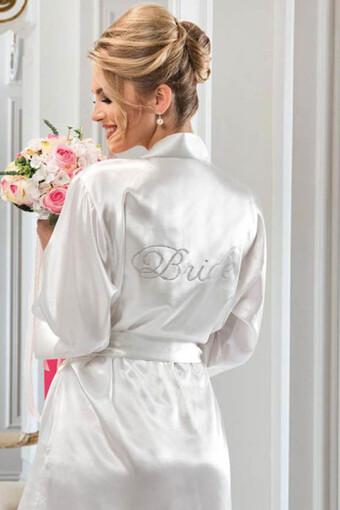 NBB - Nbb Kadın Fantezi Sabahlık Bride Saten (1)