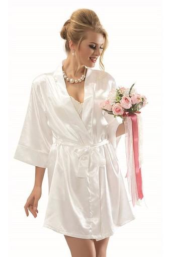 NBB - Nbb Kadın Fantezi Sabahlık Bride Saten