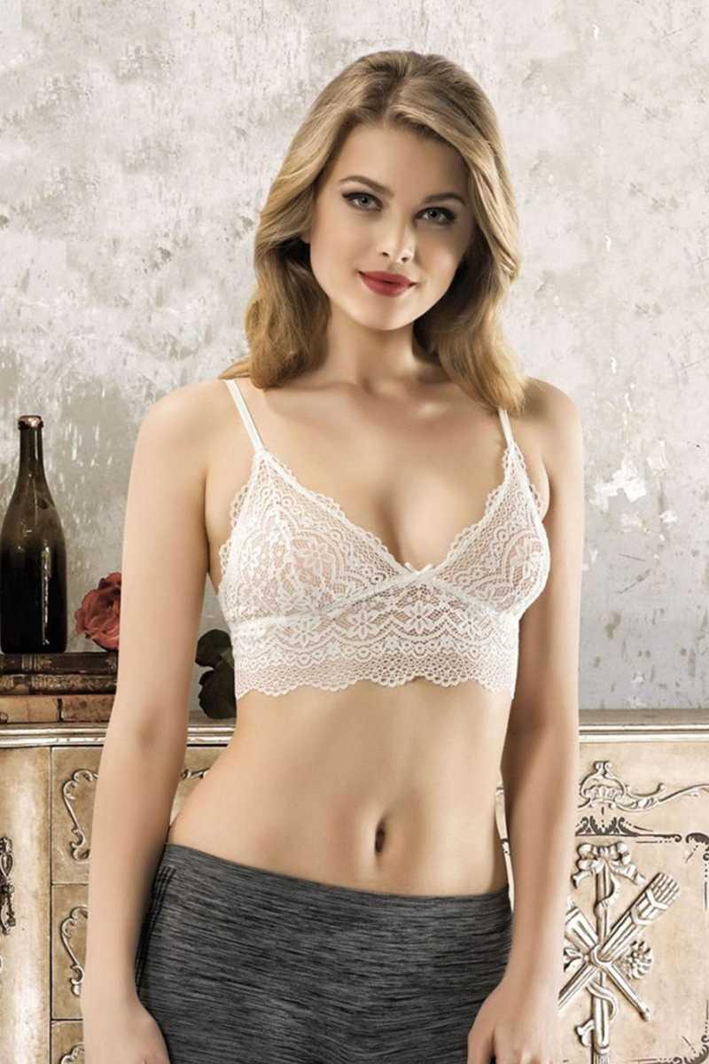 Nbb Kadın Yarım Büstiyer Dantelli NBB4601 - Thumbnail