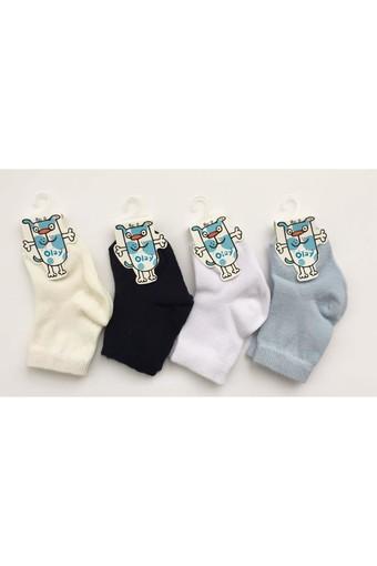 OLAY-KOŞAR - Olay Erkek Bebek Çorap OLAY6010215 (12 adet)