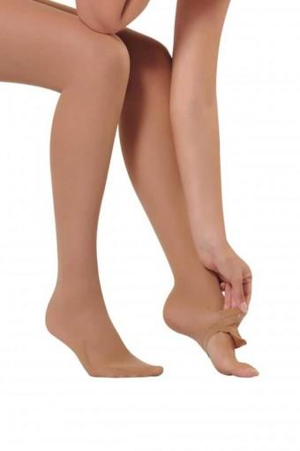 ORAL - Oral Kadın Abdest Çorabı Dizaltı - Oral4004 (12 adet) (1)
