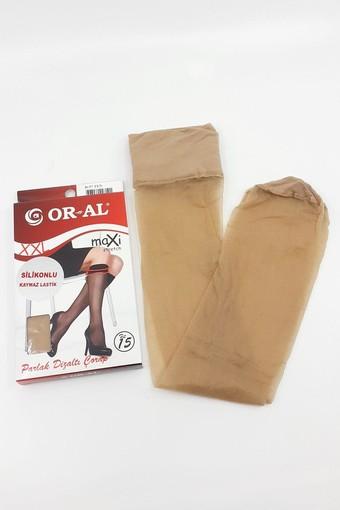 ORAL ÇORAP - Oral Kadın İnce Dizaltı Çorap Parlak Maksi (12 adet)