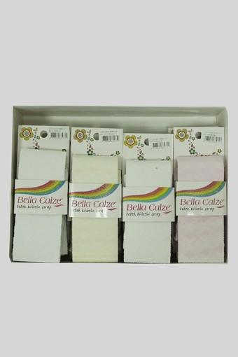 ORAL ÇORAP - Oral Kız Bebek Külotlu Çorap Lace Rita (10 adet) (1)