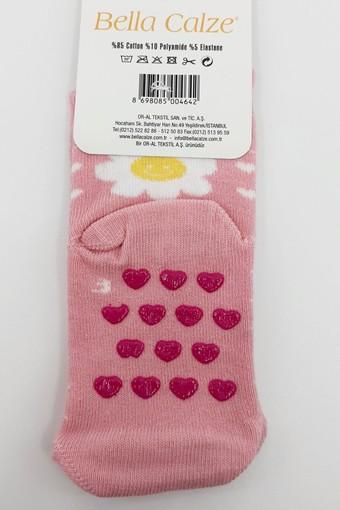 ORAL ÇORAP - Oral Kız Çocuk Soket Çorap Papatya Desenli (12 adet)