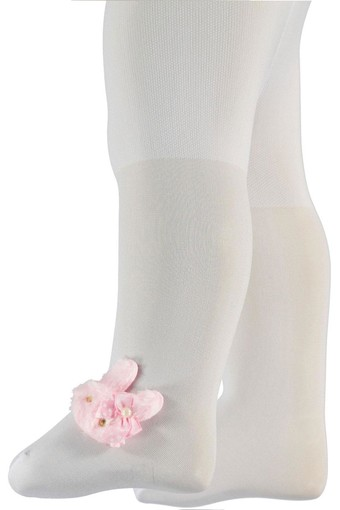 ORAL ÇORAP - Oral Unisex Bebek Külotlu Çorap Kulaklı ORAL8017 (12 adet)