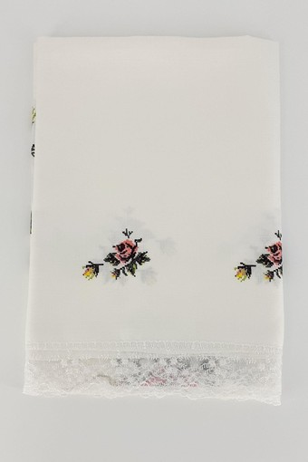 PALET ÇEYİZ - Palet Çeyiz Masa Örtüsü Kanaviçe 160x220