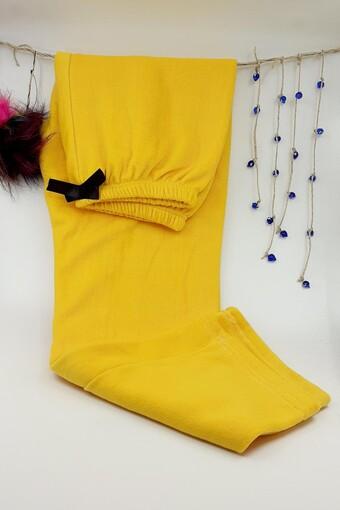 Pamuş Kadın Tek Alt Pijama Tıraşlı Polar - Thumbnail