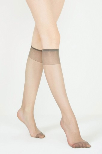 PENTİ - Penti Kadın İnce Dizaltı Çorap Fit 15 Parlak İnce (12 adet)