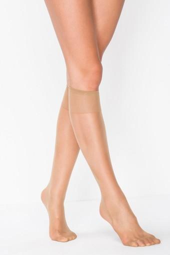 PENTİ - Penti Kadın İnce Dizaltı Çorap Fit 15 Parlak İnce (12 adet) (1)