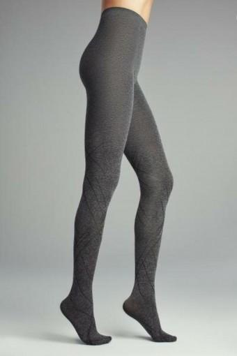 PENTİ - Penti Kadın İnce Külotlu Çorap Desenli Diagonal (3 adet)