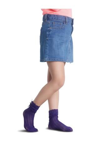 PENTİ - Penti Kız Çocuk İnce Külotlu Çorap Limo File (12 adet)