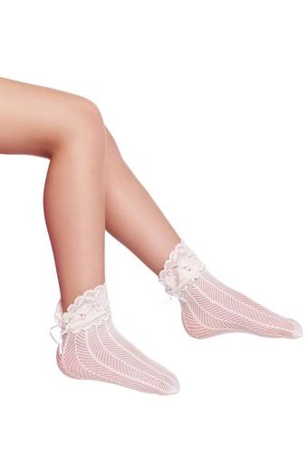 PENTİ - Penti Kız Çocuk İnce Külotlu Çorap Limo File (12 adet) (1)