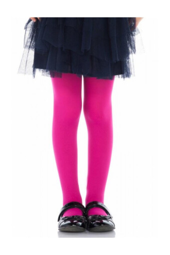 Penti Kız Çocuk İnce Külotlu Çorap Pretty Baskılı Mikro 40 - Thumbnail