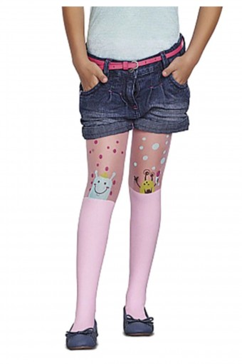 PENTİ - Penti Kız Çocuk İnce Külotlu Çorap Pretty Carolına (6 adet) (1)