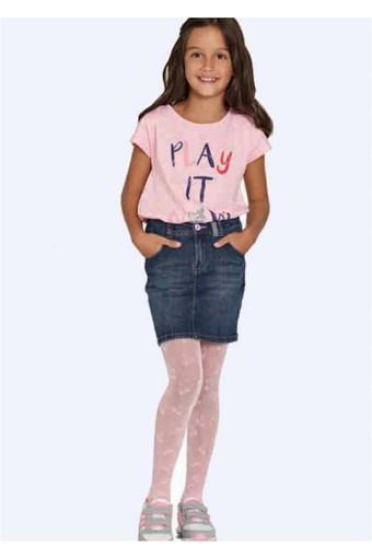 PENTİ - Penti Kız Çocuk İnce Külotlu Çorap Pretty Cherry Desenli 20 Denye (6 adet)
