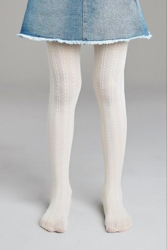 PENTİ - Penti Kız Çocuk İnce Külotlu Çorap Pretty Decor (3 adet)