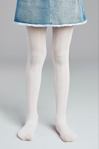 Penti Kız Çocuk İnce Külotlu Çorap Pretty Decor (3 adet) - Thumbnail