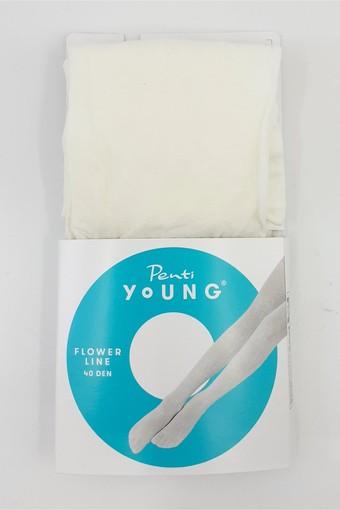 PENTİ - Penti Kız Çocuk İnce Külotlu Çorap Pretty Flower Line (3 adet) (1)