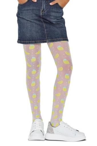 PENTİ - Penti Kız Çocuk İnce Külotlu Çorap Pretty Lemon Desenli 30 Denye (6 adet)