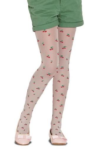 PENTİ - Penti Kız Çocuk İnce Külotlu Çorap Pretty May Desenli 30 Denye (6 adet)