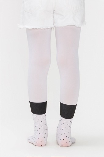 PENTİ - Penti Kız Çocuk İnce Külotlu Çorap Pretty Panda Head (6 adet) (1)