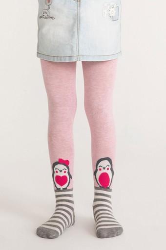 PENTİ - Penti Kız Çocuk İnce Külotlu Çorap Pretty Penguen Family (6 adet)
