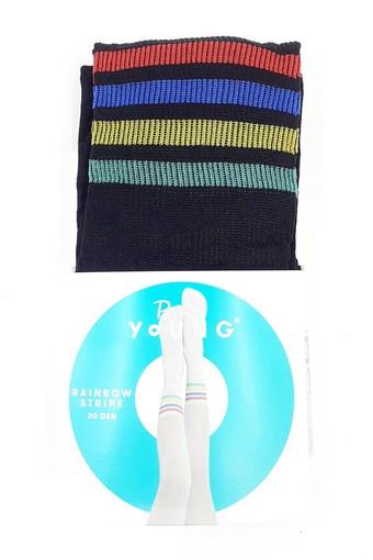 PENTİ - Penti Kız Çocuk İnce Külotlu Çorap Pretty Rainbow Stripe (3 adet) (1)