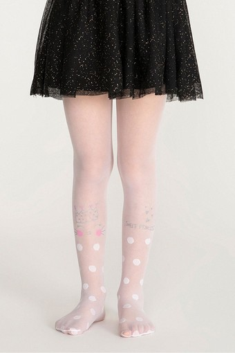 PENTİ - Penti Kız Çocuk Külotlu Çorap Princess Cat (3 adet)