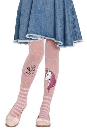 PENTİ - Penti Kız Çocuk İnce Külotlu Çorap Pretty Unicorn Desenli (6 adet)