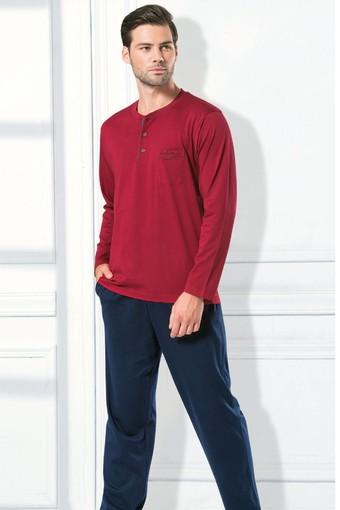 Pierre Cardin - Pierre Cardin Erkek Çeyizlik Pijama Takımı Penye