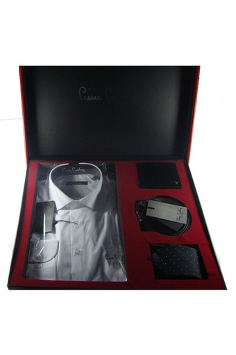PIERRE CARDIN - Pierre Cardin Erkek Gömlek Set 4 Parça