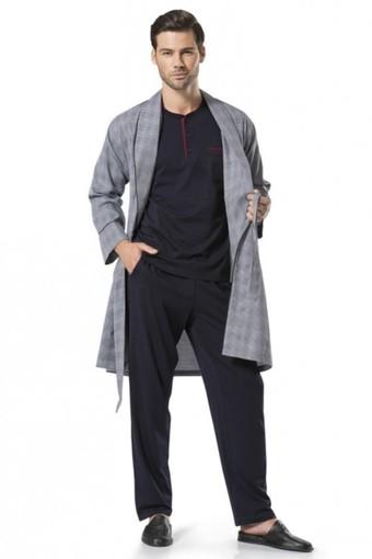 PIERRE CARDIN - Pierre Cardin Erkek Rob Takım Şortlu Pamuklu PCARDIN5540 (1)