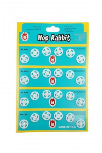 Pınar Çıtçıt Plastik No:16 Mm Hop Rabbit (30 adet) - Thumbnail