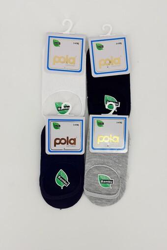 POLA - Pola Erkek Çocuk Suba Çorap Bambu Berry (12 adet) (1)