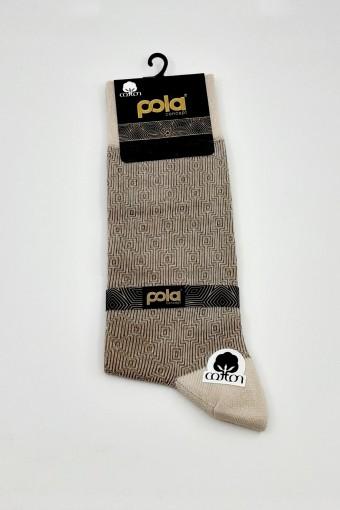 POLA - Pola Erkek Soket Çorap Sisom (6 adet) (1)