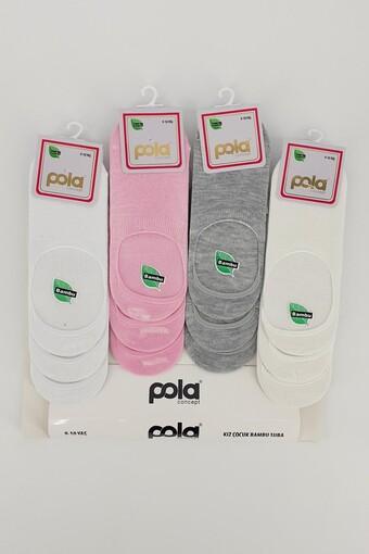 POLA - Pola Kız Çocuk Suba Çorap Bambu İzel (12 adet)