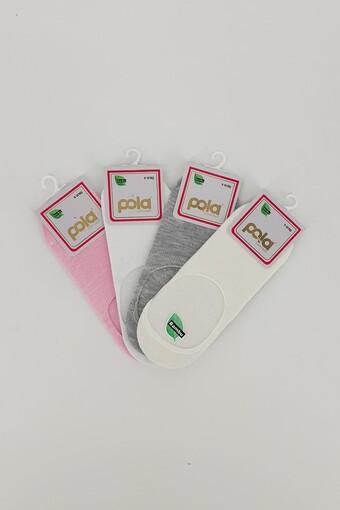 POLA - Pola Kız Çocuk Suba Çorap Bambu İzel (12 adet) (1)