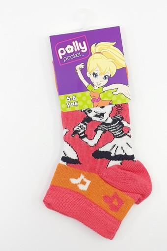 Şirin Erkek Çocuk Patik Çorap Polly Pocket No:5 - Thumbnail