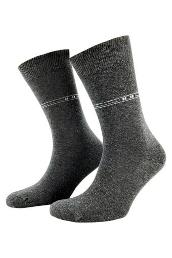 ŞİRİN - Şirin Erkek Garson Soket Çorap Anti Bakteriyel Desenli Dikişsiz Parfümlü 38-41